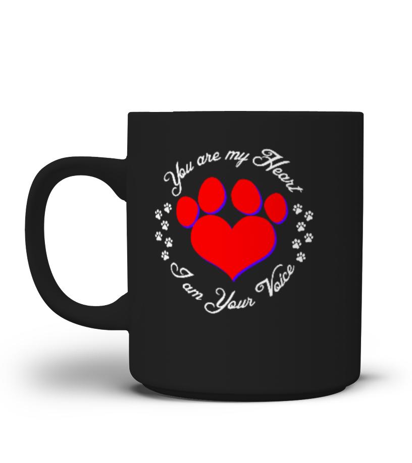you are my heart mug
