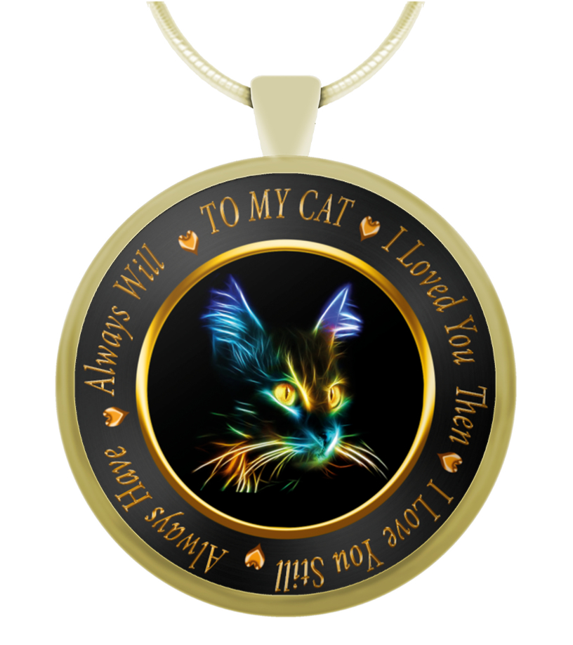 To My Cat Necklace