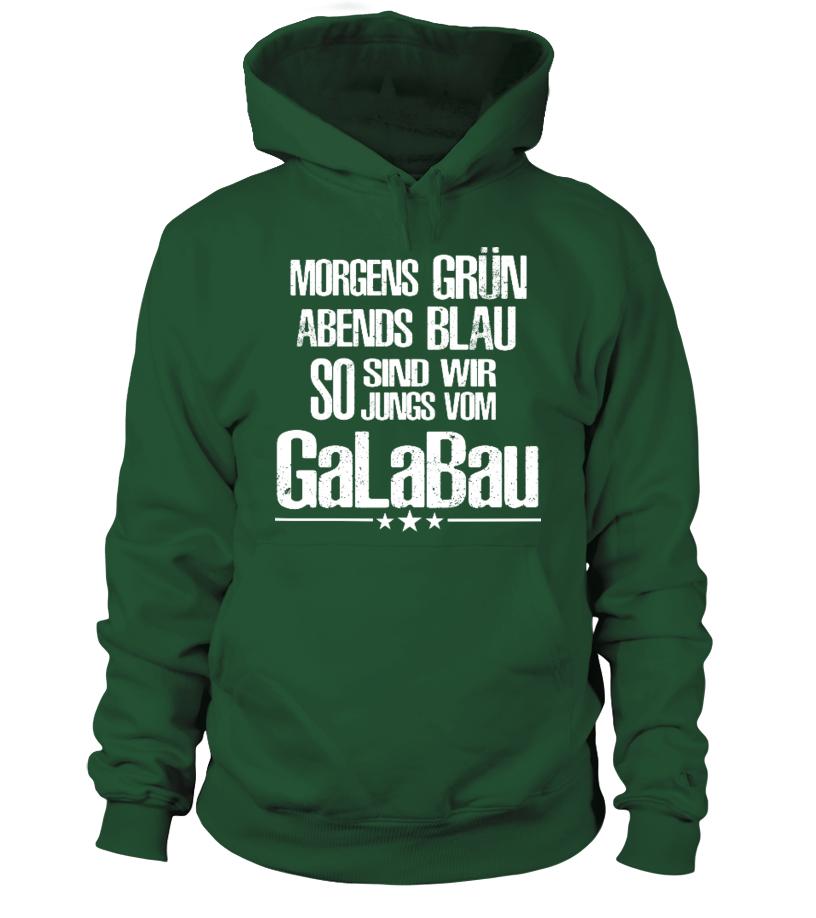 ++STRENG LIMITIERT++ GaLaBau-Hoodie