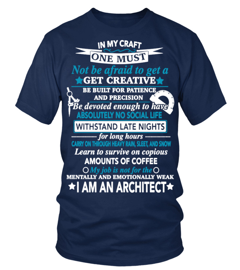 ARCHITECT - MY JOB IS NOT FOR THE MENTAL