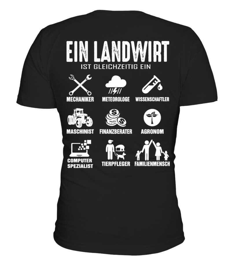 Ein Landwirt ist gleichzeitig..T-Shirt Hoodie