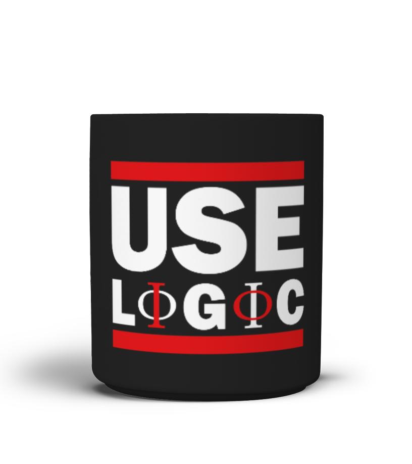 PHILOSOPHY MUG - USE LOGIC