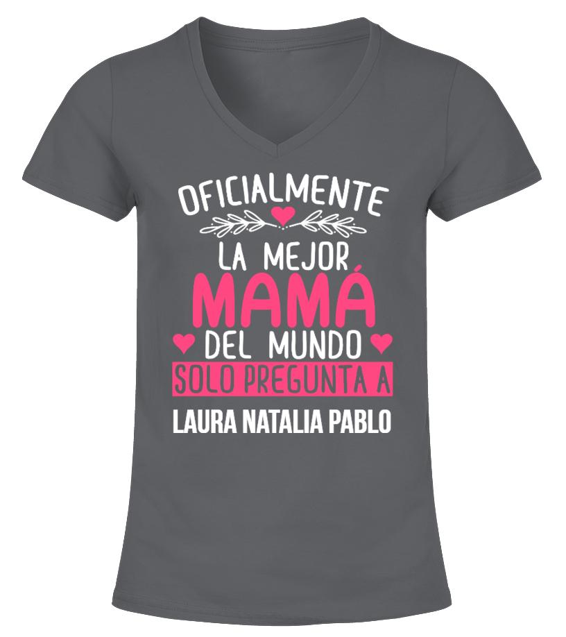 OFICIALMENTE LA MEJOR MAMÁ CAMISETA PERSONALIZADA
