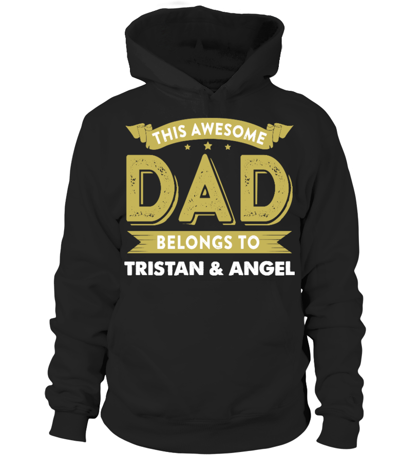 Awesome Father T-Shirt - AWESOME DAD CUSTOM SHIRT FATHERS DAY Hoodie Unisex