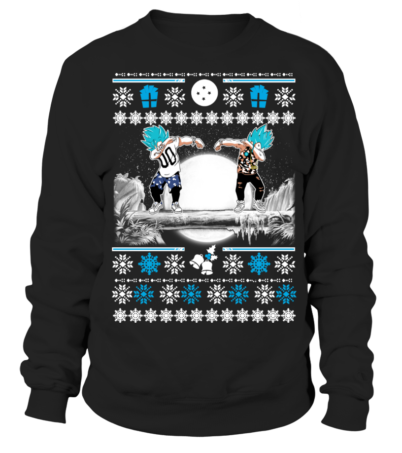 Goku & Vegeta DAB ugly christmas Sweater