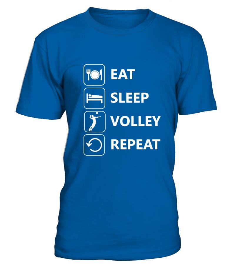 Eat Sleep Volley Repeat