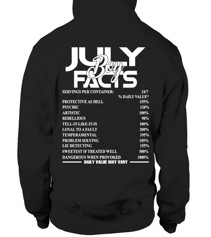 JULY BOY FACTS