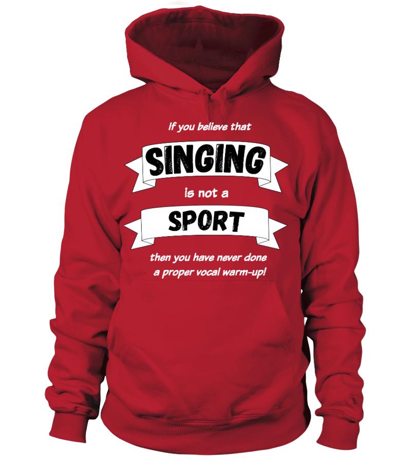 Singing is sport!