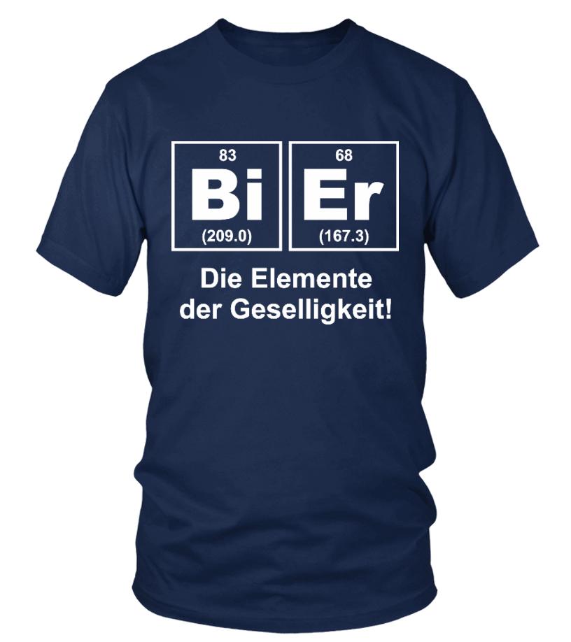 Chemiker - Bier das Element der Geselligkeit - T-Shirt Hoodie