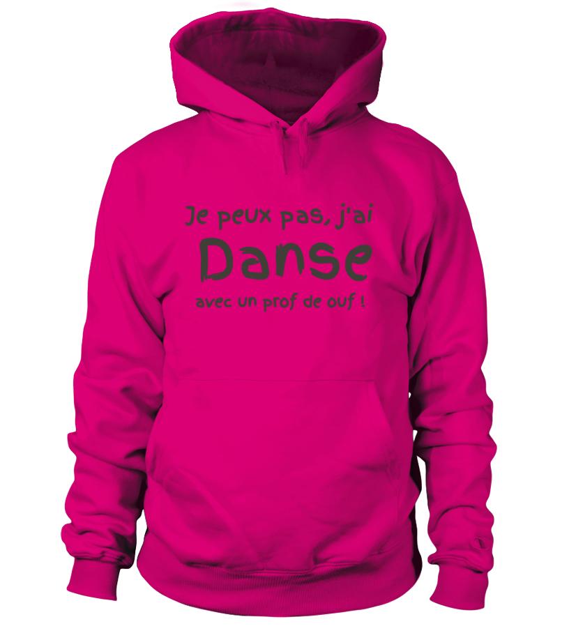 "SWEAT DANSE ""J'ai danse"" (Personnalisable)  B/Ed. lim."