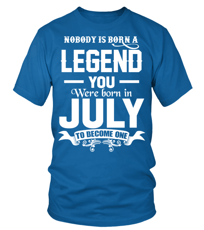 YOU WERE BORN IN JULY