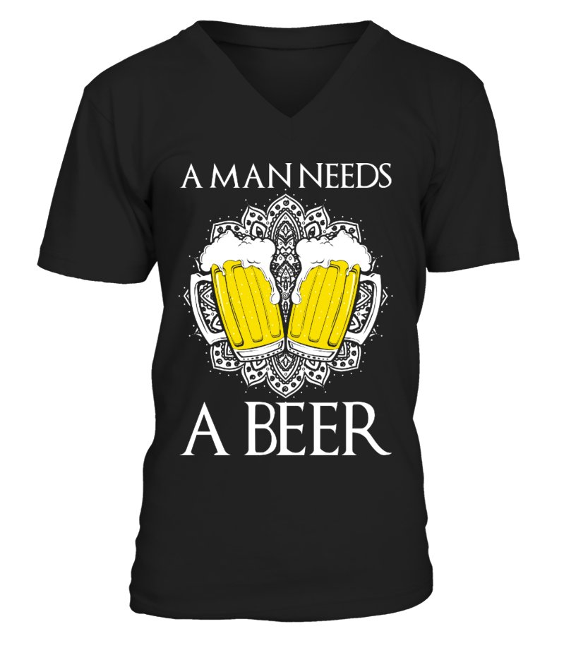 A Man Needs A Beer - Fans Exclusive!
