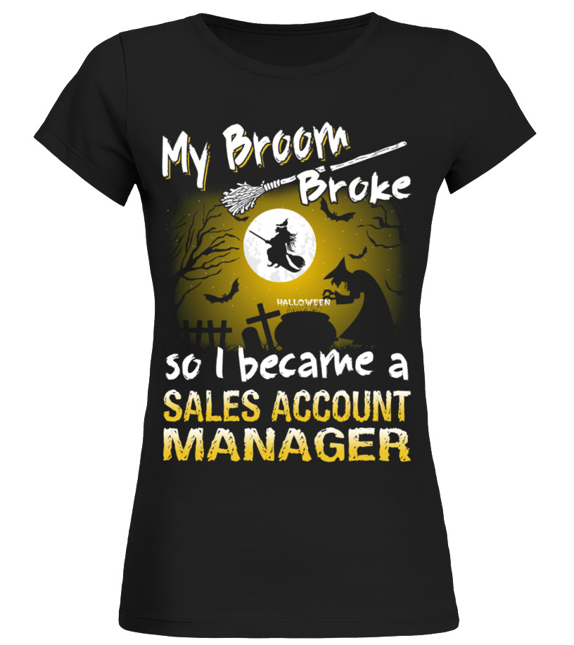 T shirts with baseball sayings sales account manager halloween ...