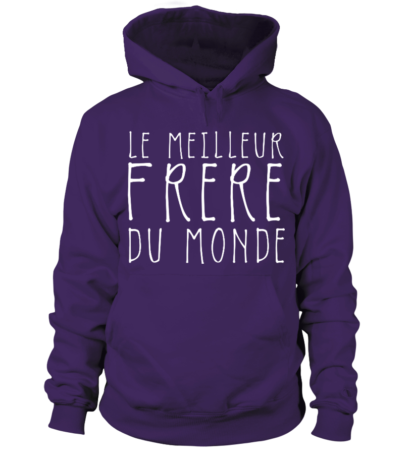 """SWEAT FAMILLE NOEL """"Frère du Monde"""" (bl.)"""