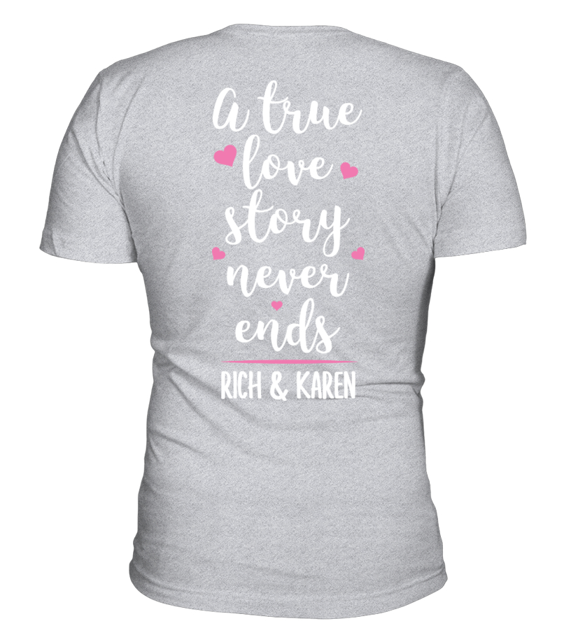 A TRUE LOVE STORY - CUSTOM SHIRT