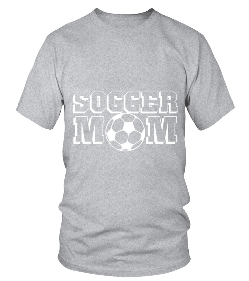 dc0067cad14 Gifts Football Tees For You - Soccer Mom T-Shirt Round neck T-Shirt