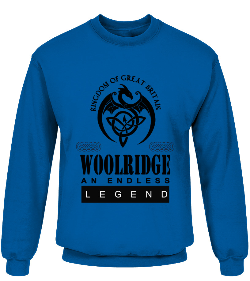 THE LEGEND OF THE ' WOOLRIDGE '
