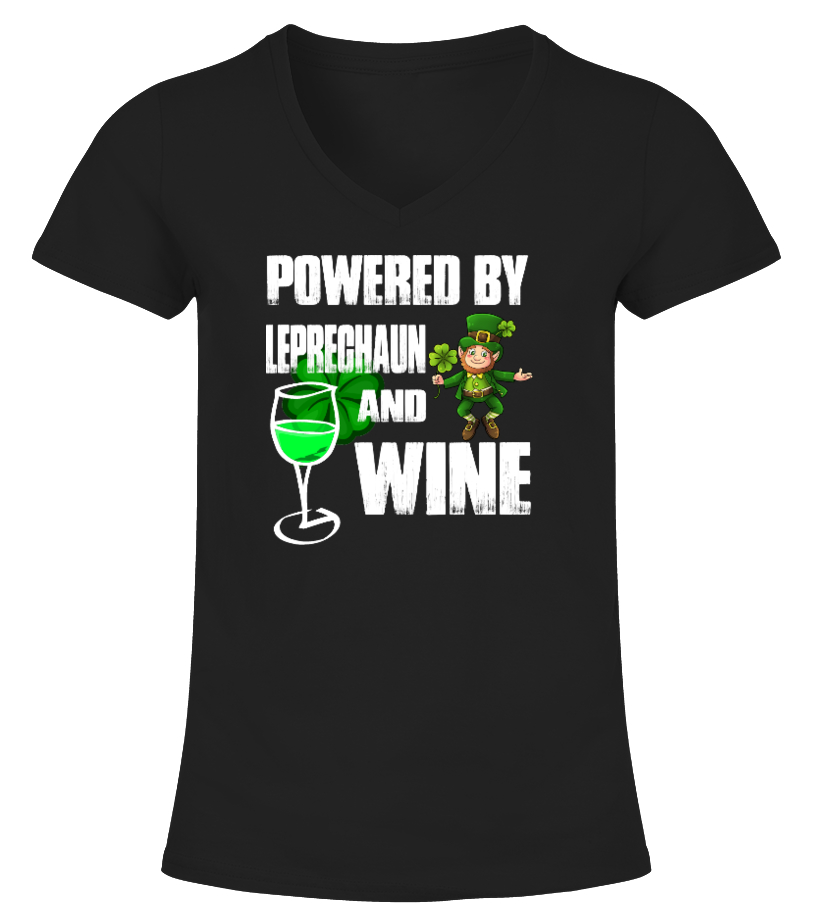 POWERED BY LEPRECHAUN AND WINE