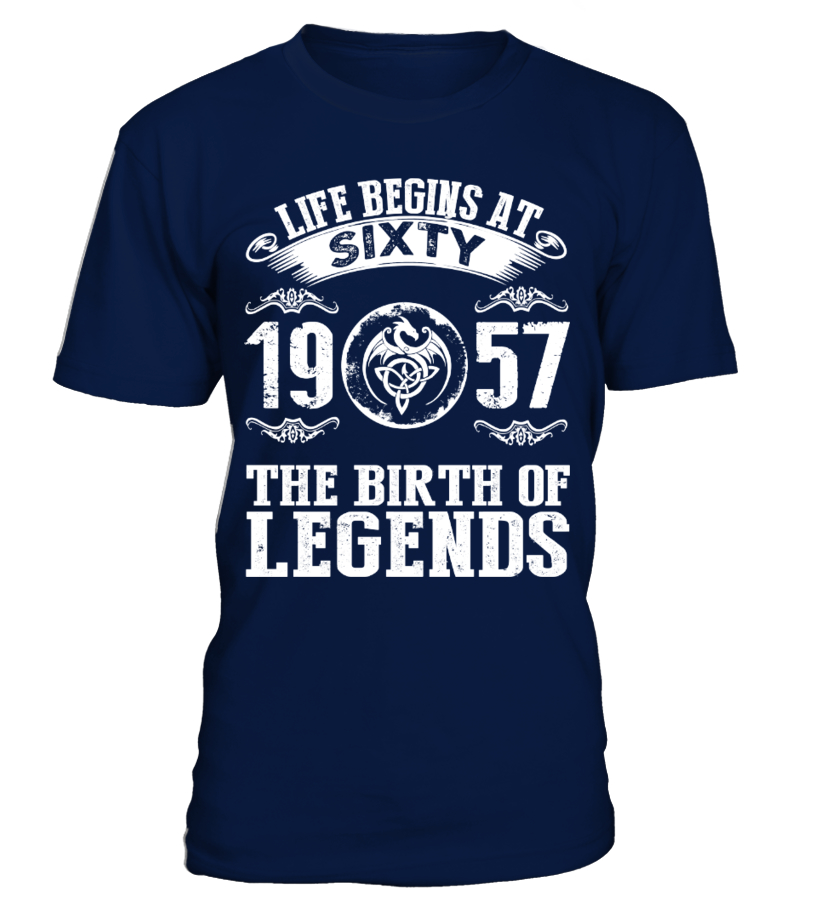 60Y - LIFE BEGINS AT SIXTY 1957 THE BIRTH OF LEGENDS