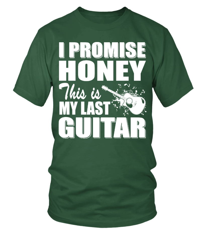 I PROMISE HONEY, THIS IS MY LAST GUITAR