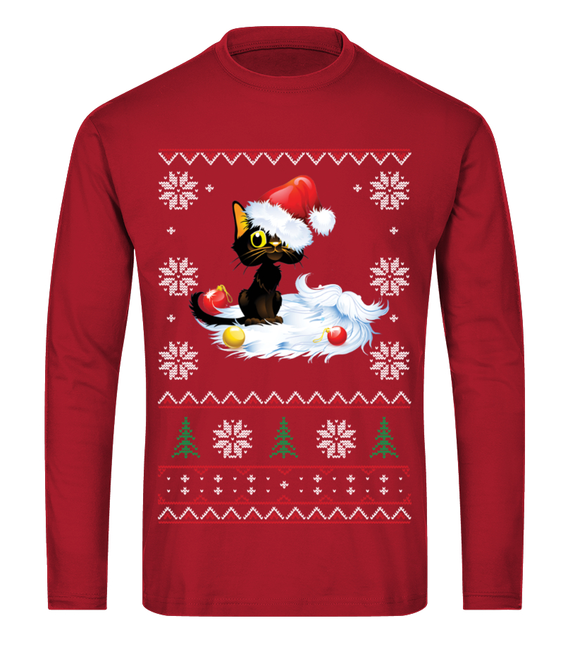 Funny Christmas - THE UGLY CHRISTMAS FURRY SWEATER Long sleeved T-shirt Unisex