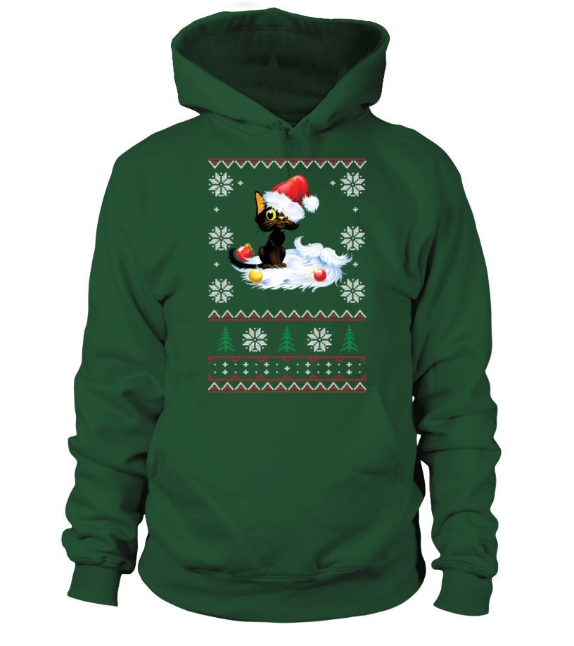 Funny Christmas - THE UGLY CHRISTMAS FURRY SWEATER Hoodie Unisex