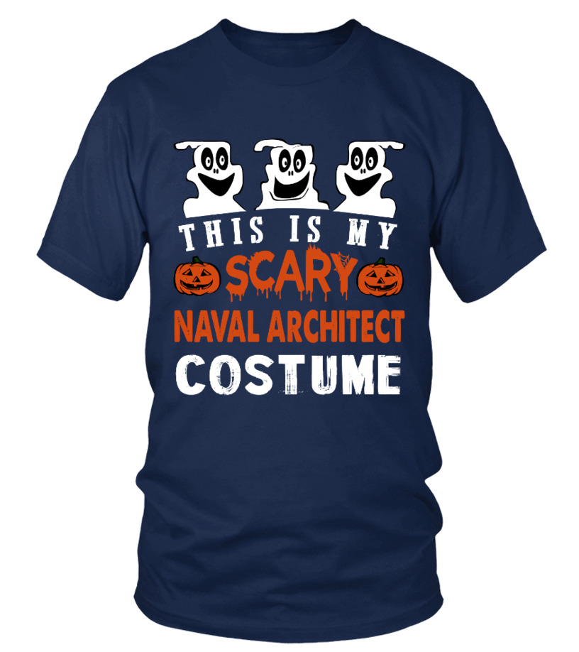 This is My Scary Naval Architect Costume
