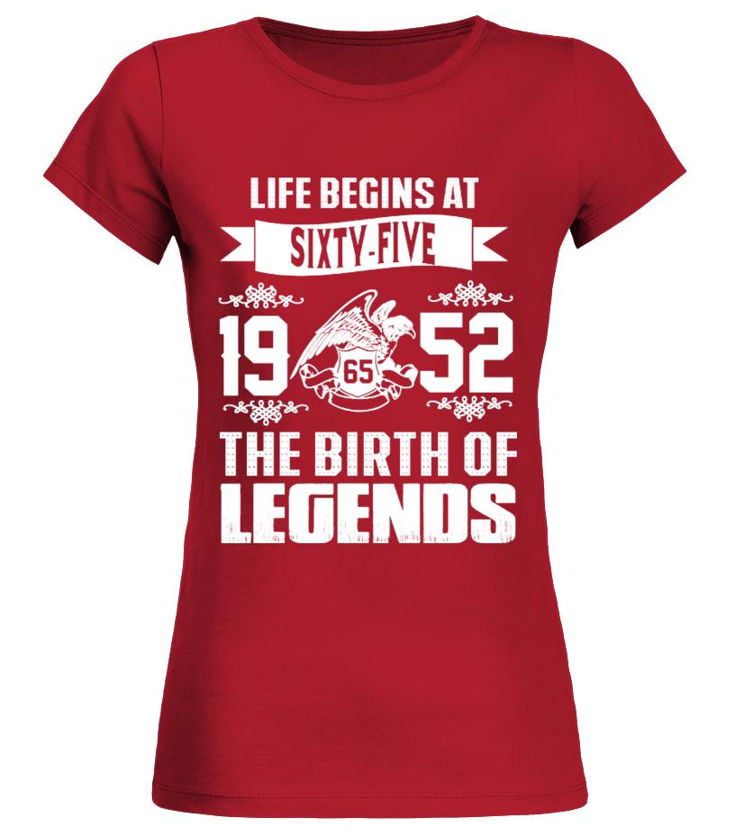 Life begins at 65y- 1952