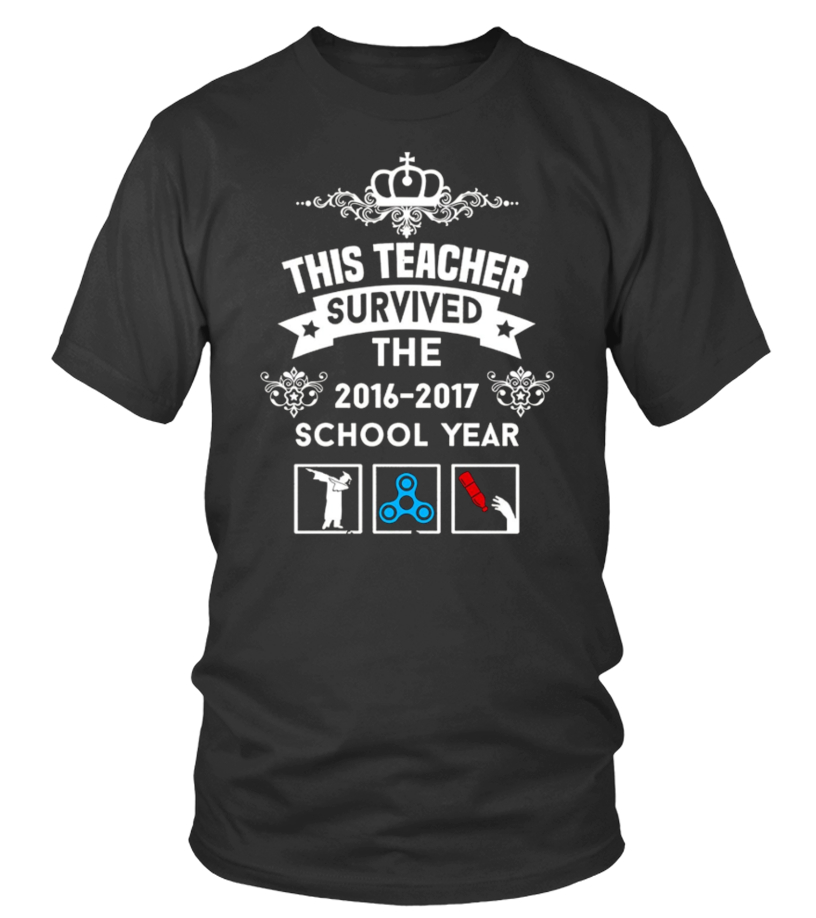 High School Girl T Shirt This Teacher Survived School Year Shirt