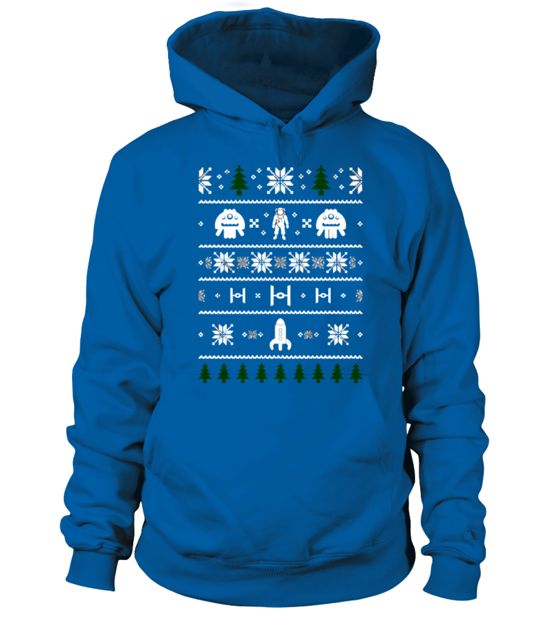 Space Christmas Ugly Sweater Ugly