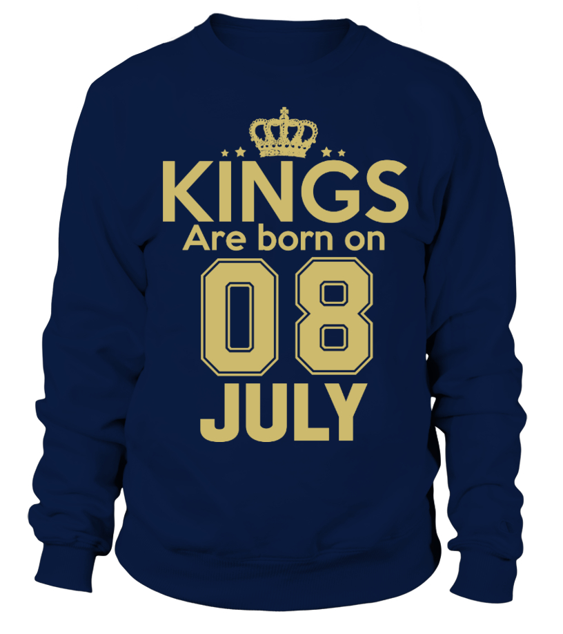 KINGS ARE BORN ON 08 JULY