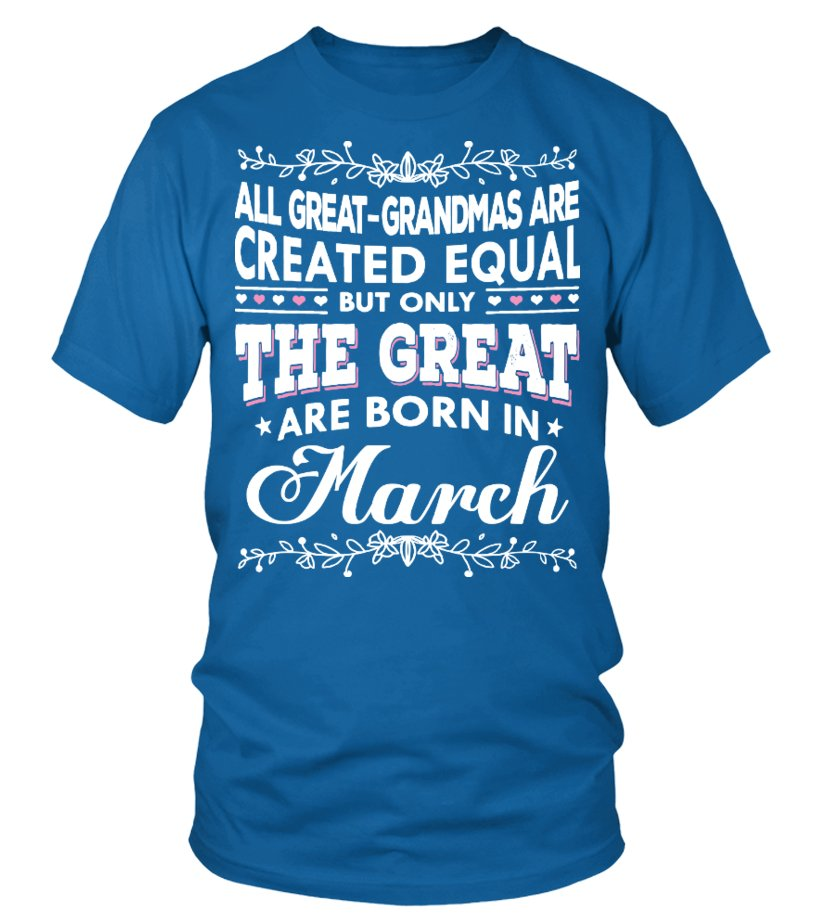 Great Are Born in March