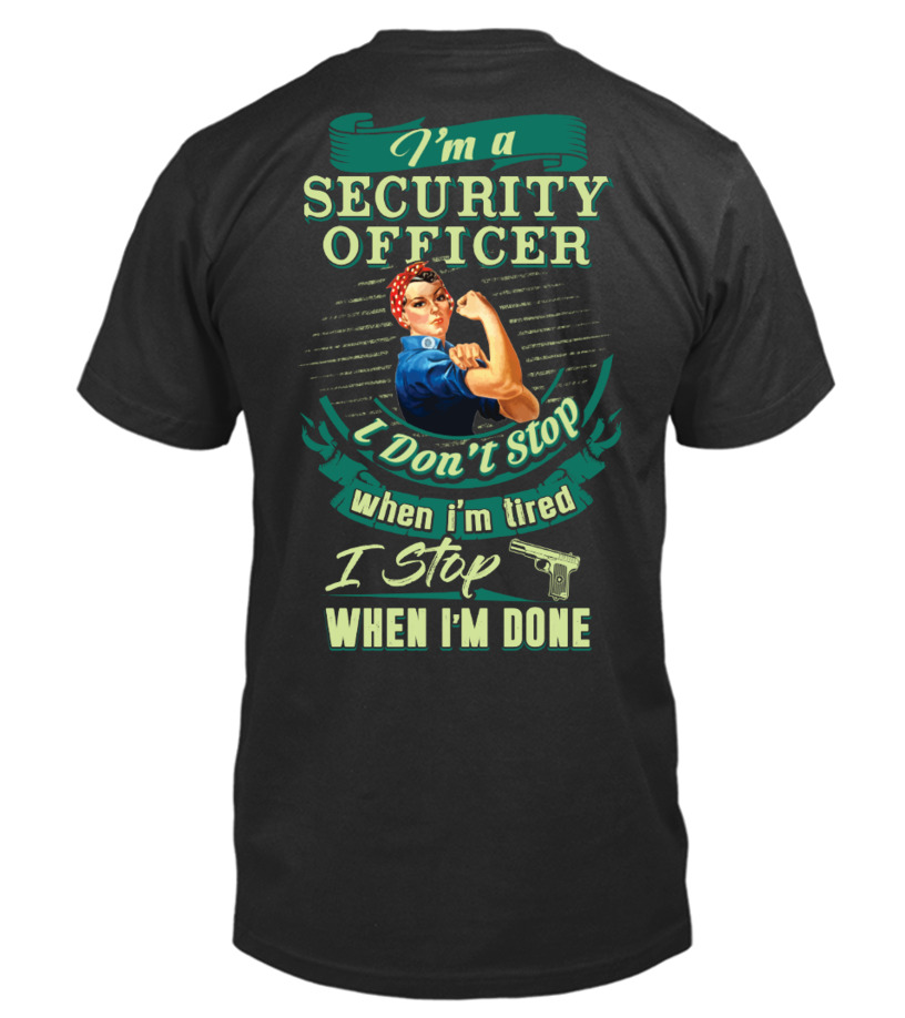 Strong Security Officer Shirt