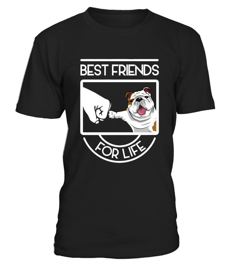 Bulldog - Best friends for life !