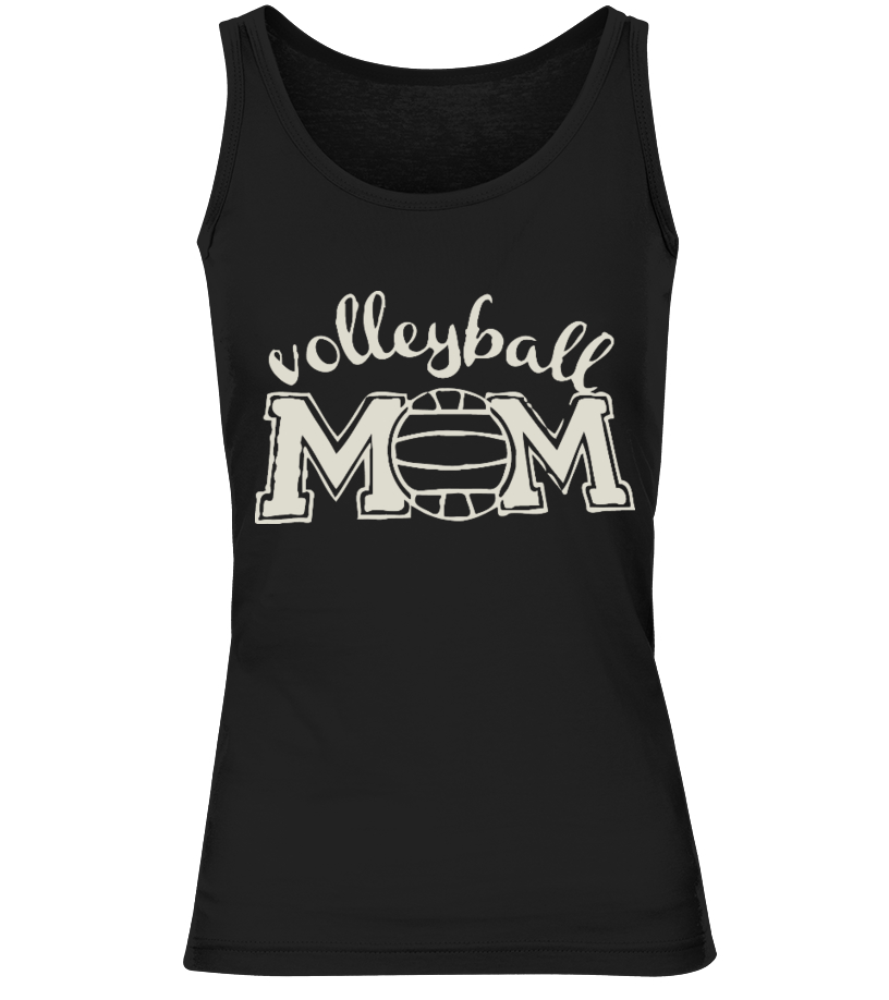 VOLLEYBALL MOM Tank Tops