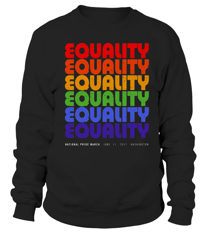 ab00cd6c Cool National Pride March Shirt Vintage Rainbow LGBT Equality - Limited  Edition T-shirt,