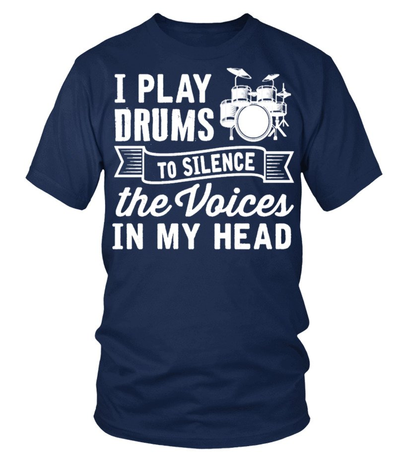 DRUMMER -  I PLAY DRUMS TO SILENCE VOICE
