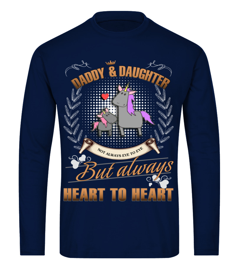 Amazing Father - UNICORN DADDY AND DAUGHTER NOT ALWAYS EV Long sleeved T-shirt Unisex