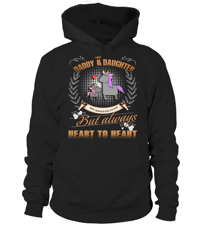 Amazing Father - UNICORN DADDY AND DAUGHTER NOT ALWAYS EV Hoodie Unisex