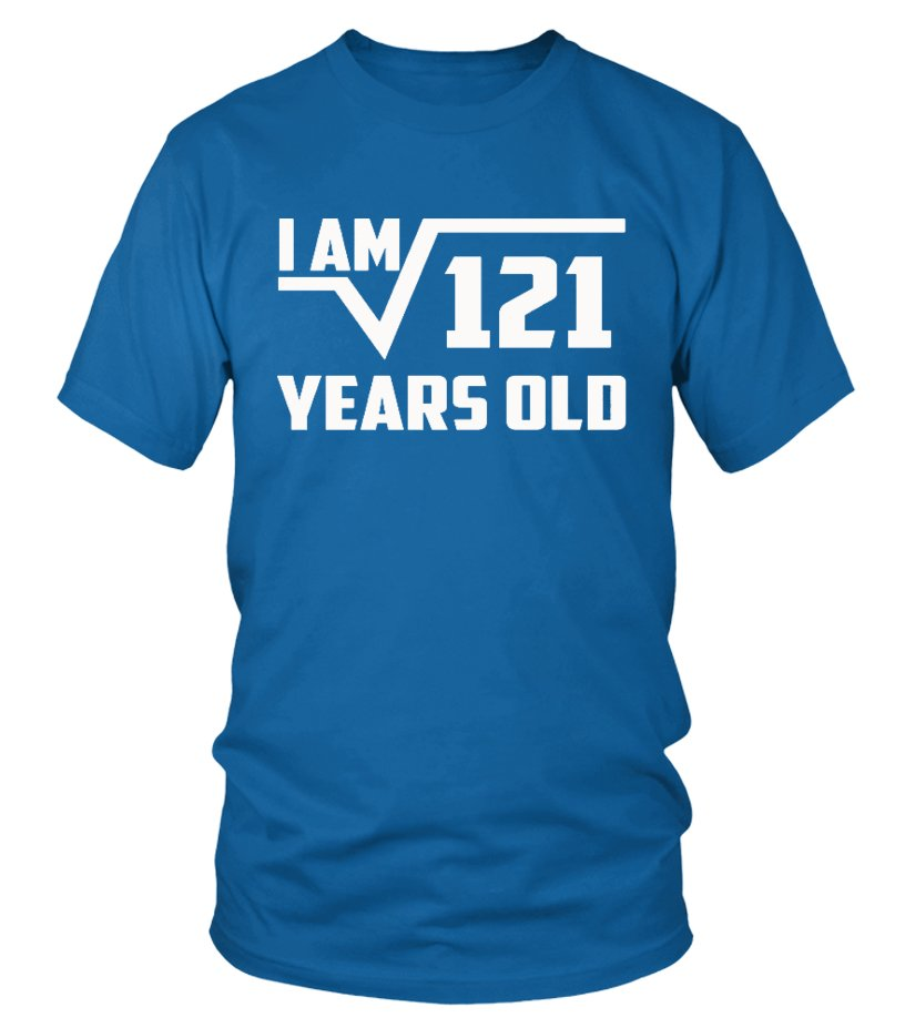 2383 000 Square Root Of 121 Shirt Best Gifts For 11 Year Old