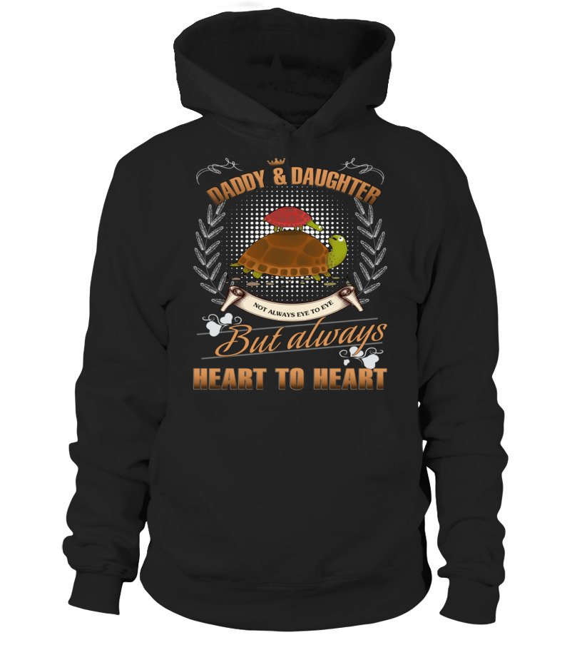Amazing Father - TURTLE DADDY AND DAUGHTER NOT ALWAYS EVE Hoodie Unisex
