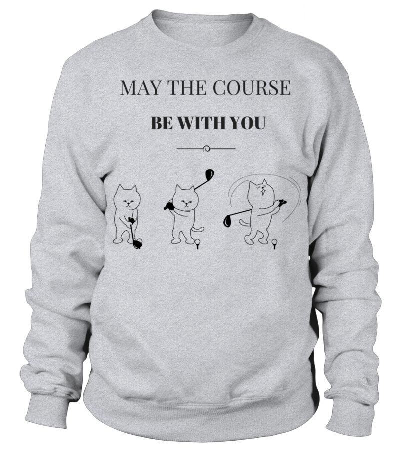 e49943c4 Best May The Course Be With You Golf \u0026amp; Cat Lovers T Shirt Tshirt