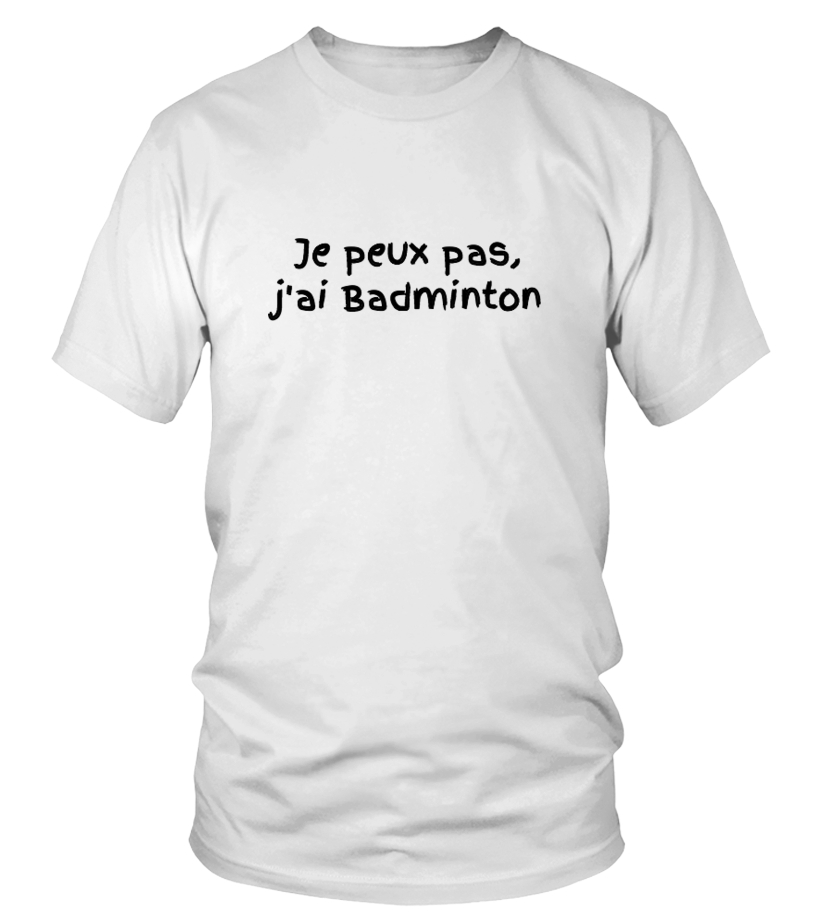 "SWEAT SPORT ""J'ai badmington """