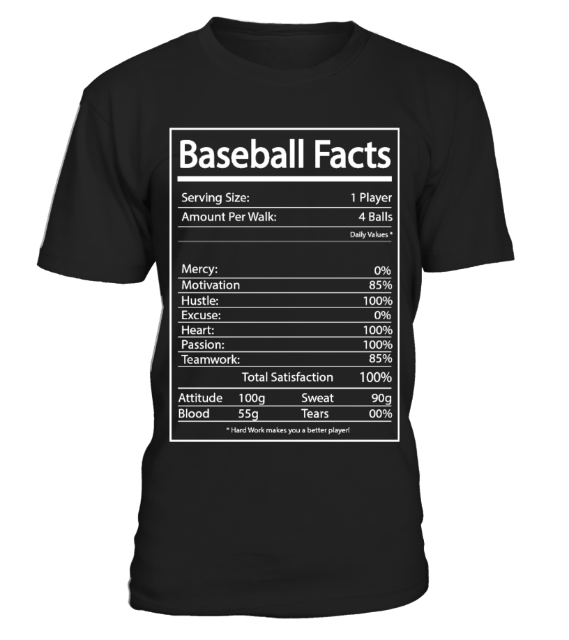 Baseball Facts Unisex Tshirt