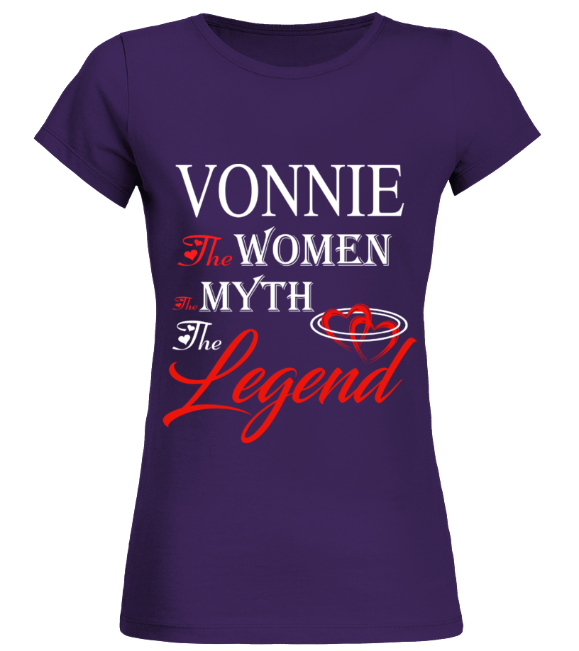 VONNIE THE MYTH THE WOMEN THE LEGEND