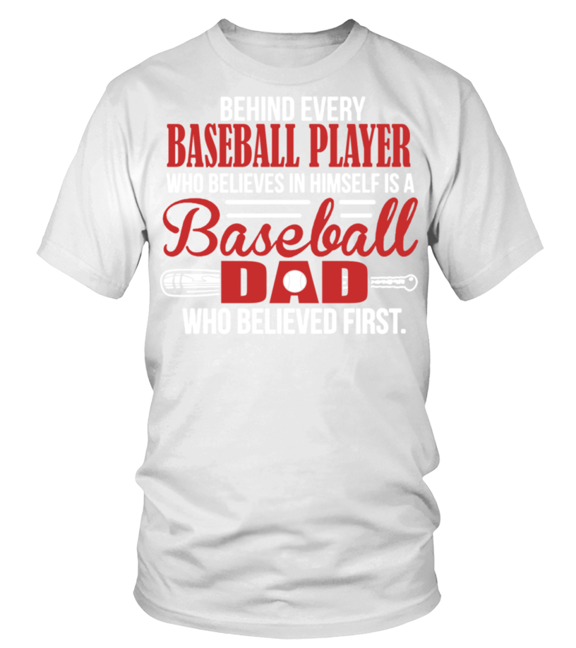 Shop Baseball - Baseball Dad Shirt Round neck T-Shirt Unisex