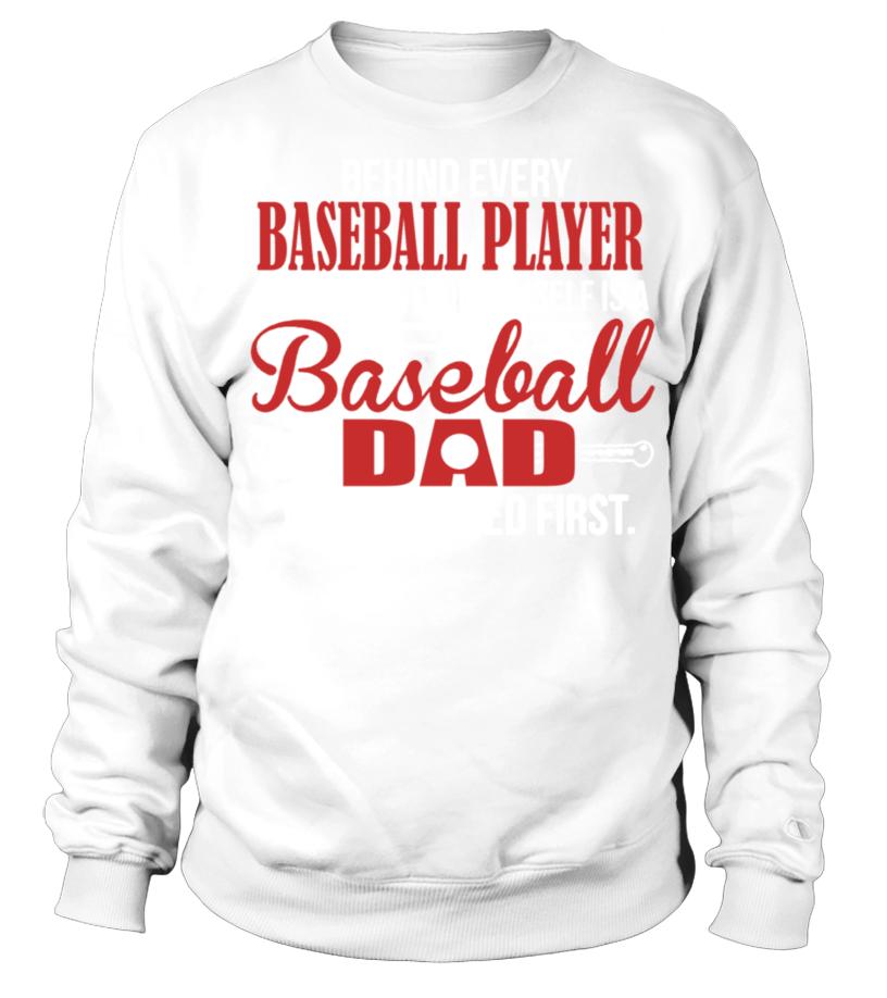 Shop Baseball - Baseball Dad Shirt Sweatshirt Unisex