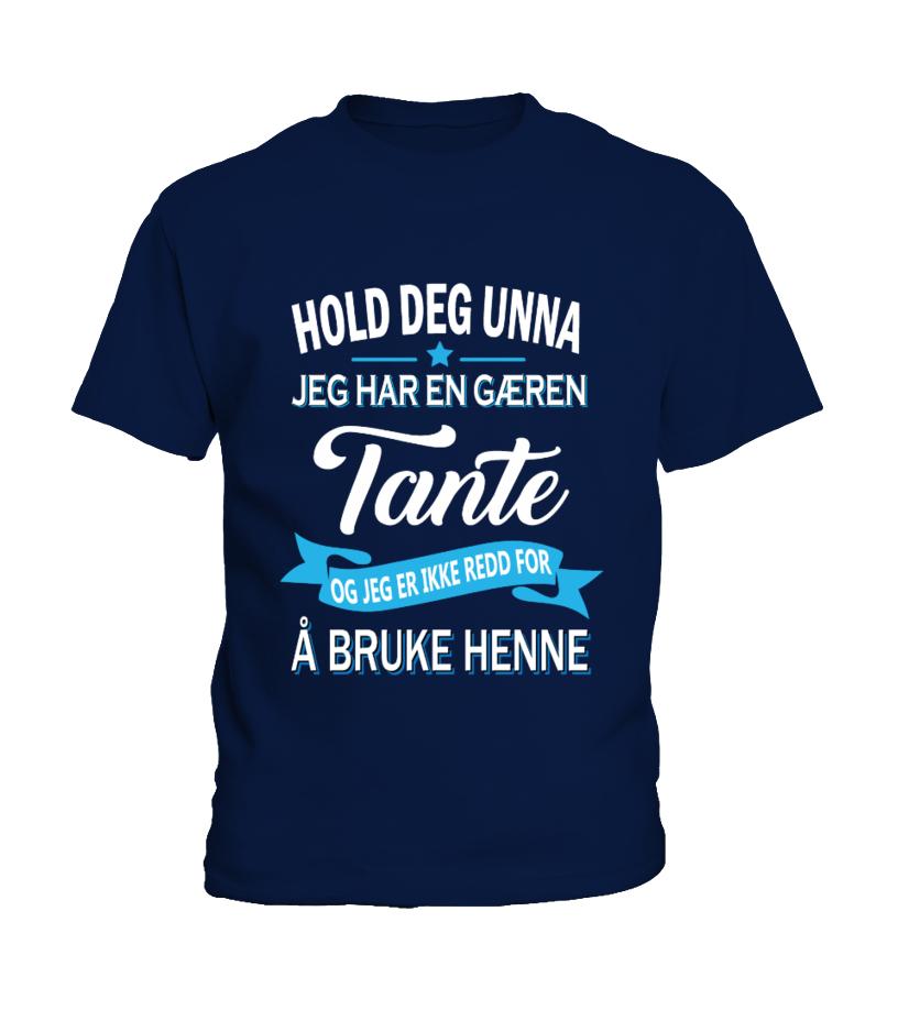 TANTE - FLERE DESIGN - BLA NEDOVER