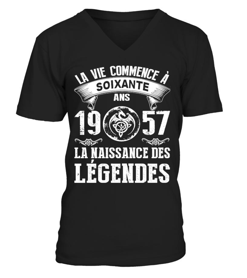 1957  la naissance des legendes tshirt
