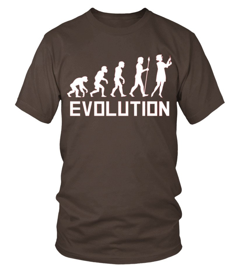 Nurse Evolution Funny Nursing Shirt